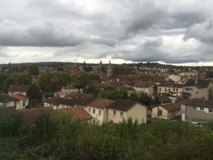 Figeac from the train.