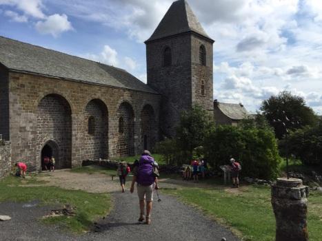 The Church in Aubrac